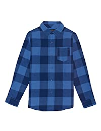 French Toast Boys Long Sleeve Flannel Shirt Button Down Shirt