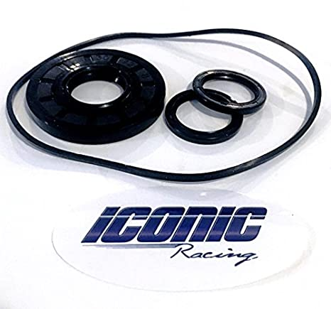 Iconic Racing Front Differential Gear Case Seal Kit With O-ring Compatible  With 11-16 Polaris RZR 570 800 900 1000