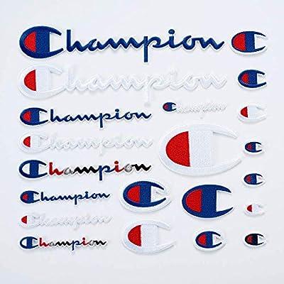 21 Pack Champion Patches Conjunto de Parches de Varios Tamaños ...