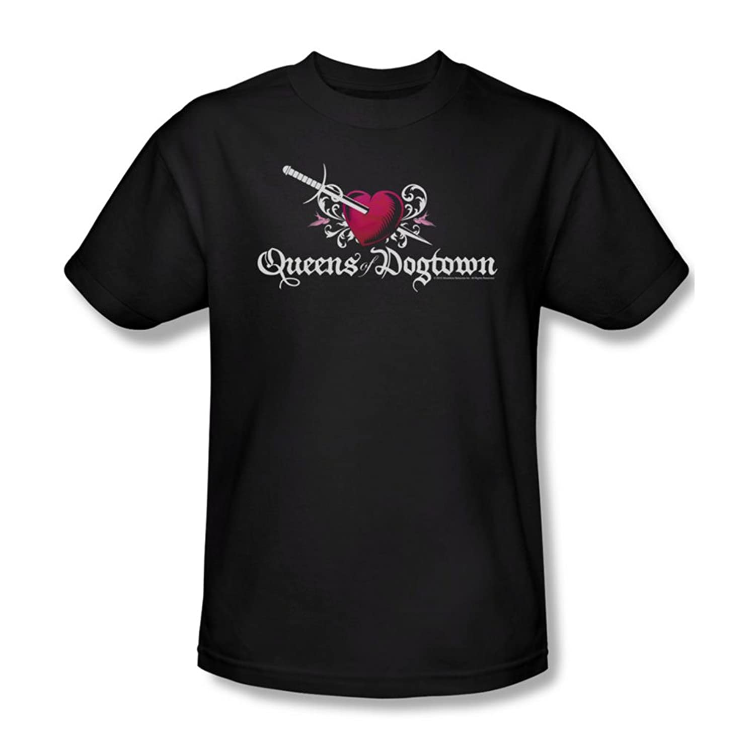 Californication - Mens Queens Of Dogtown T-Shirt In Black