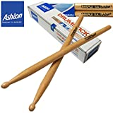 Ashton (Australia) Drum Sticks (Value Pack) Buy 1 Pair Get 1 Pair.. 5A