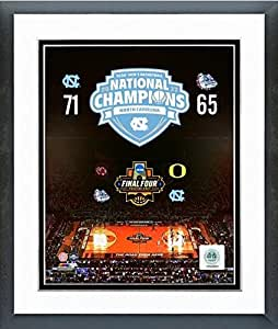 "North Carolina Tar Heels 2017 NCAA Basketball Champions Photo (Size: 26.5"" x 30.5"") Framed"