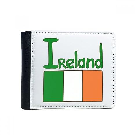 DIYthinker Irlanda National Bandera Verde Plegable del tirón ...
