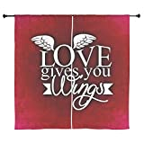 60 Inch Curtain Curtains Love Gives You Wings