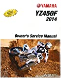 LIT-11626-27-21 2014 Yamaha YZ450F Motorcycle Owners Service Manual