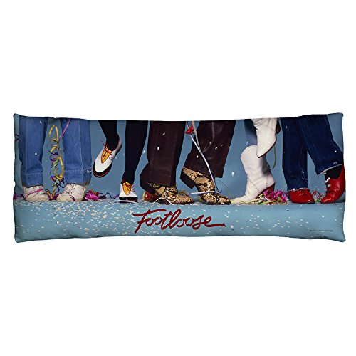 Footloose 80s Musical Drama Dance Movie Loose Feet Body Pillow by 2Bhip