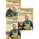 Jacques Pepin's Fall/Winter Celebrations Set by Jacques Pepin