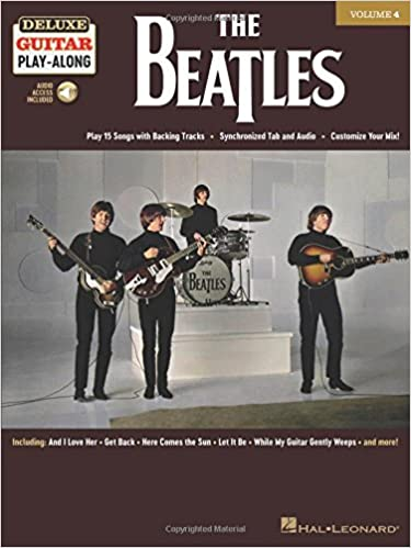 The Beatles: Deluxe Guitar Play-Along Volume 4 With Access Code ...