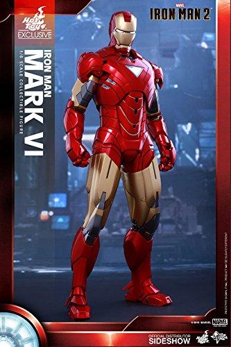 【ムービー・マスターピース】 『アイアンマン2』 1/6スケールフィギュア アイアンマン・マーク6 (六本木リミテッド・エディション) (Iron Man 2 Mark Vi Hot Toys)