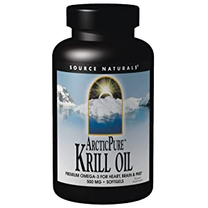Source Naturals ArcticPure Krill Oil 500mg