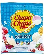 Chupa Chups Milky Lollipops Set, 16 Pieces - 120 grams