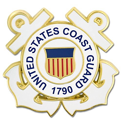 U.S. Coast Guard Anchor Pin - Military Lapel (Guard Lapel Pin)