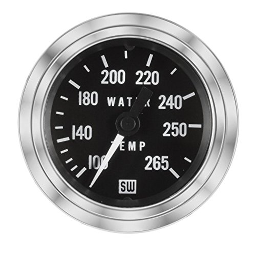 MAXIMA TECHNOLOGIES Stewart Warner Temperature Gauge 100-265 F w// 288 Tube