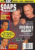 Anthony Geary, Kin Shriner, Maurice Benard, Steve Burton, General Hospital, Cameron Mathison - May 19, 1998 ABC Soaps in Depth Magazine [SOAP OPERA]