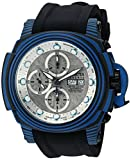 Invicta Men's 'Reserve' Automatic Stainless Steel and Silicone Casual Watch, Color:Black (Model: 23559)