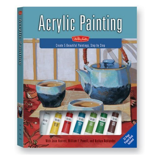 Acrylic Painting: A Complete Painting Kit for Beginners pdf epub