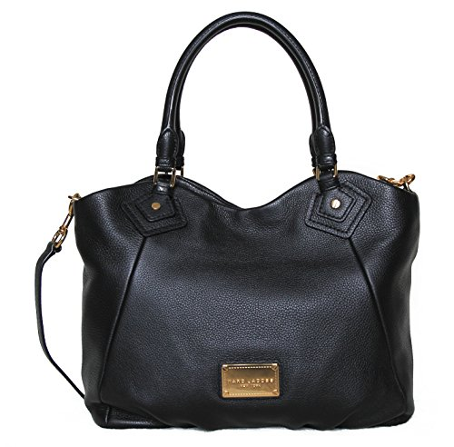 Marc by Marc Jacobs Fran Leather Handbag (Black) by Marc by Marc Jacobs