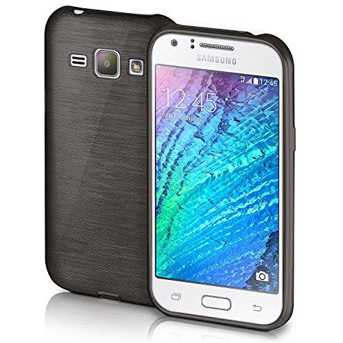 Slim Shockproof Case for Samsung Galaxy J1 (Black) - 9