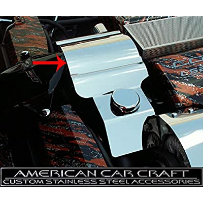 2005-2013 Corvette C6 and Z06 LS7 Polished Stainless Throttle Body Cover: Automotive