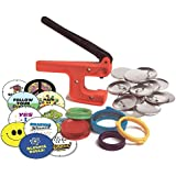 "Badge-A-Minit 100S 2 1/4"" Badge-A-Minit Button Machine Starter Kit Back-To-School Edition"