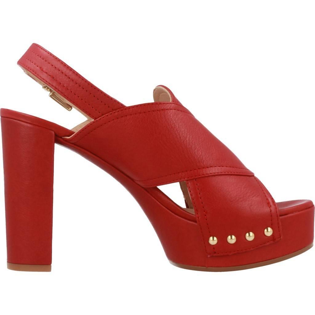Unisa Modelo Color Para Y Marca Chanclas Rojo Mujer Sandalias Of8w0Svx