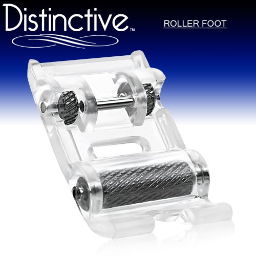 Distinctive Roller Sewing device Presser foot or so - fits All Low Shank Snap-On Singer*, Brother, Babylock, Euro-Pro, Janome, Kenmore, White, Juki, New Home, Simplicity, Elna and More!