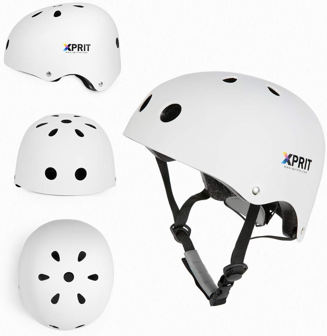 Bike XPRIT Skateboarding Scooter Helmet w//Impact Resistance