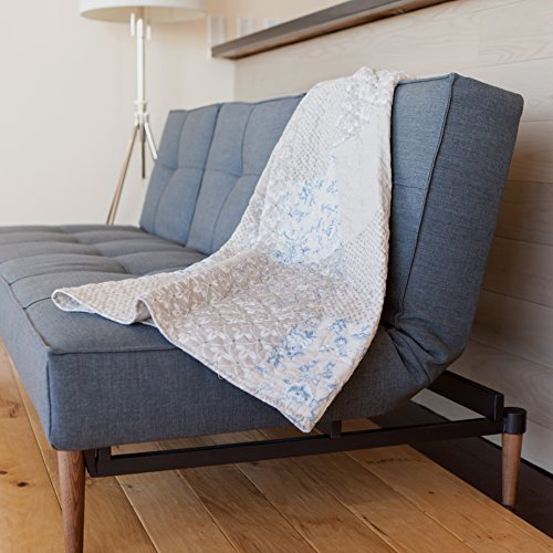 Sova Spring Breeze Cotton Real Patchwork Quilted Throw (50