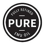 PURE EMU Emu Oil: Pure, Fully Refined Emu Oil For