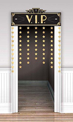 Amscan 241995 Party Supplies Glitz & Glam Doorway Curtain (12 ct), 39