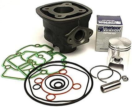 Zylinder Kit Mit Meteor Kolben Für 50 Ccm Piaggio Lc Motoren 4 Eckig Gilera Runner Piaggio Nrg Ntt Quartz Zip Auto