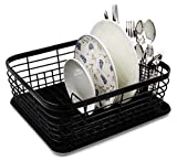 Best Dish Racks - ESYLIFE Kitchen Dish Drainer Drying Rack with Drip Review