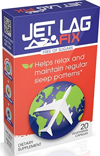 Jet Lag Fix Jet Lag Relief Pills -Natural Sleep Remedies for Jet Setters & Time