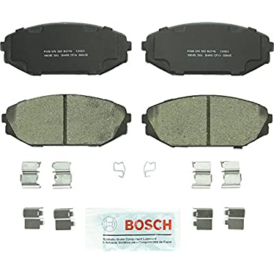 Bosch BC793 QuietCast Premium Ceramic Disc Brake Pad Set For: Acura MDX; Honda Odyssey, Front: Automotive
