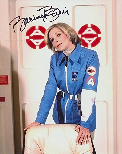 BARBARA BAIN as Dr. Helena Russell - Space: 1999 GENUINE AUTOGRAPH