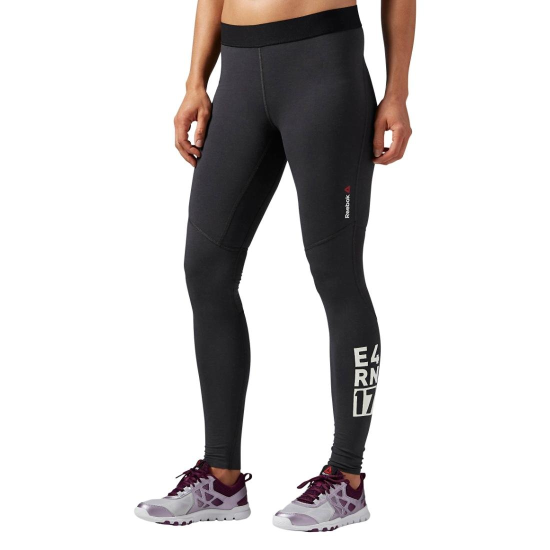 Reebok Damen Trainingshose ONE Series Quik Cotton Compression Tights