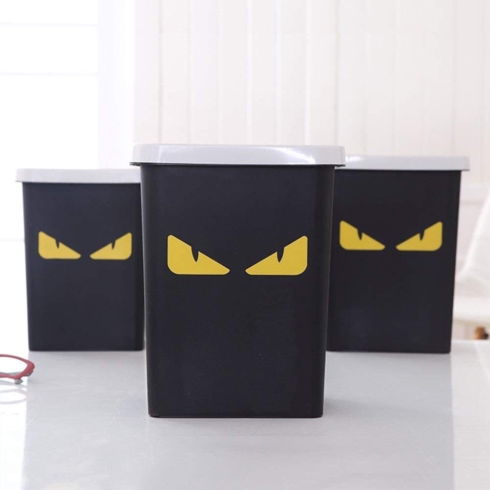 Laije Trash Can Office Style Dual-use Toilet Without Cover New Childrens Bedroom Small Uncovered Home Toilet Storage Bucket