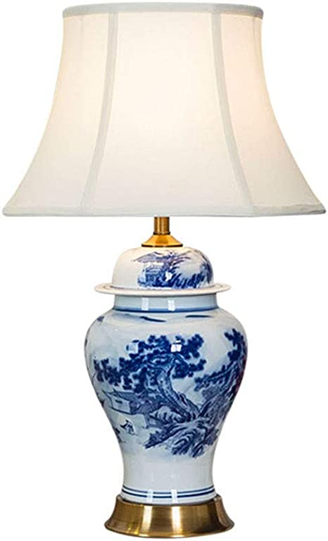 Ceramic Table Lamp Chinese Ceramic Lamp New Chinese Blue And White Porcelain Table Lamp For Bedroom Hotel Living Room Study Room E27 Amazon Com,Baby Shower Flower Arrangements