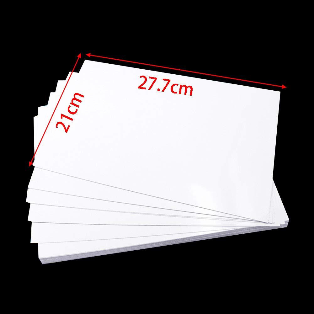 120G Carta da stampa A4 Double Sided Glossy Inkjet Coated Paper Asciugatura rapida Resistente multiuso