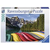 Ravensburger Mountain Canoes Jigsaw Puzzle (2000-Piece)