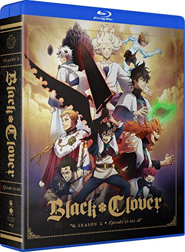 Black Clover: Season 2 Blu-ray + Digital - Blu-ray