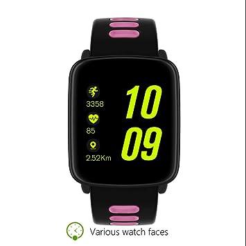 Bluetooth inteligente teléfono reloj de pulsera ergonómico diseño prácticamente Pulso Relojes sesshaft Recordar Notificación alertas Reloj Deportivo Para ...