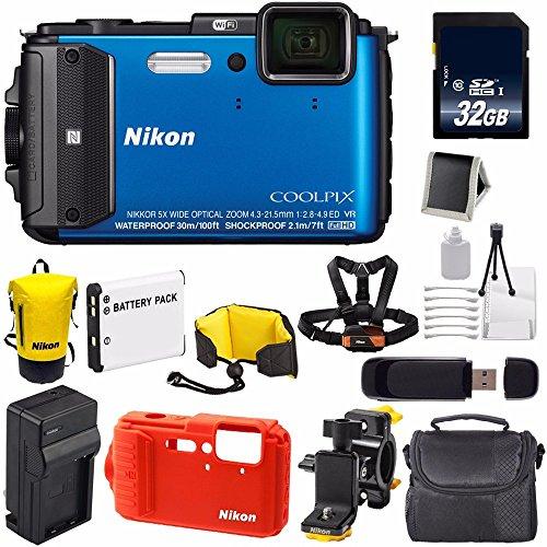 Memory Card SDHC Nikon Coolpix AW120 Digital Camera Memory Card 2X 16GB Standard Secure Digital 1 Twin Pack