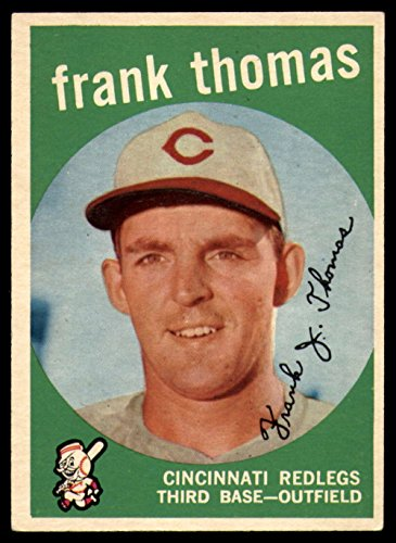 Baseball MLB 1959 Topps #490 Frank J. Thomas EX Excellent Reds