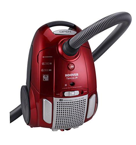 Hoover TE-75 Cylinder 3.2L 700W A Red vacuum cleaner - vacuum cleaners (Cylinder, A, Dry, Home, Carpet, Hard floor, A)