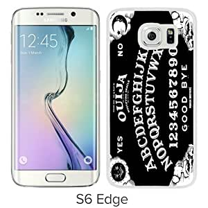 Popular Samsung Galaxy S6 Edge Case, Beautiful Designed Case With White Samsung Galaxy S6 Edge Cover Ouija Board White Samsung Galaxy S6 Edge Cover