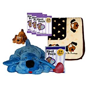Snuggle Pet Products Snuggle Puppies Starter Kit for Pets, Blue