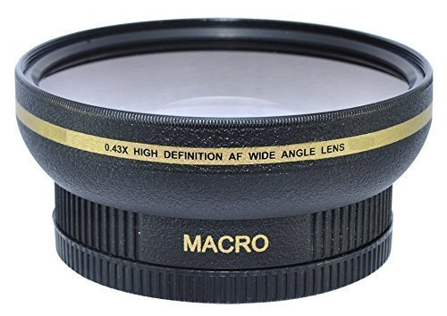 62MM 0.43x Wide Angle Conversion Lens with