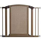 Cheap Munchkin Decorative Metal Pressure Mount Baby Gate for Stairs, Hallways and Doors, MKSA0658-011, Bronze