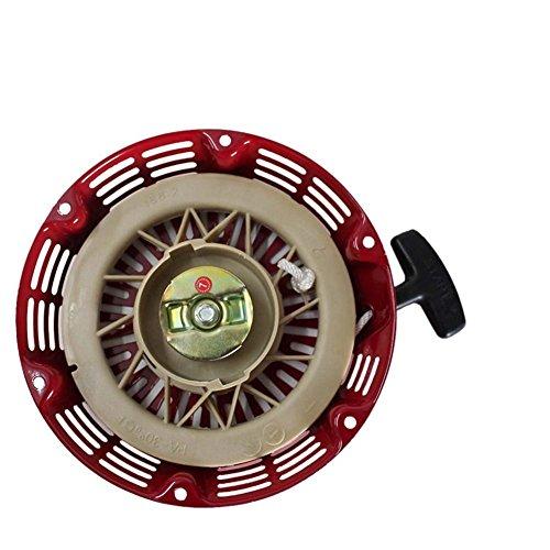 Recoil Starter Unit - Poweka Replacement Recoil Pull Start Starter for Honda Gx340 Gx390 Gx610 11hp 13hp Generator Parts New